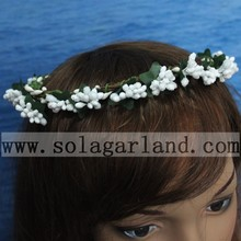Newest Design Flower Crown Headband Hair Garland Bride Wedding Headwear