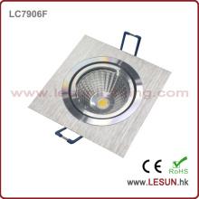 7W Square LED COB Downlight para hotel (LC7906F)