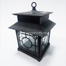 Black Metal Hurricane House Design Lantern