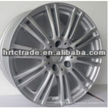 black sport chrome replica alloy wheels for cars