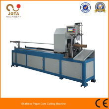 Haute vitesse papier Tube Cutter Machine Shaftless Tube cisaille