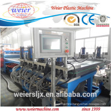 wpc foam board machine / wood plastic foam board extrusion machine