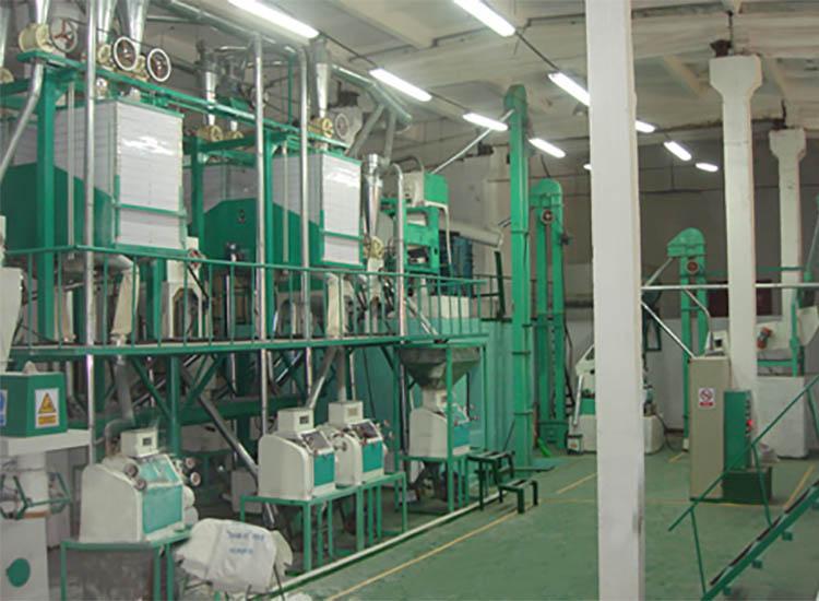 30t-50t flour mill
