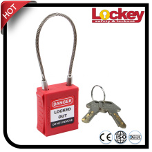 China for Stainless Steel Padlock Stainless Steel Cable Padlock Security Locks supply to Djibouti Factories