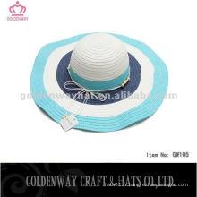 Chapeaux de fantaisie de dames chapeau de soleil en gros