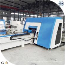 Máquina de barramento CNC com perfuração e corte