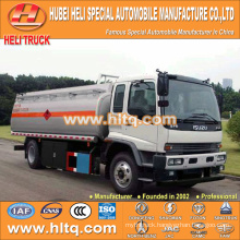 ISUZU 4x2 240hp 16000L hydrochloric acid tank truck hot sale low price