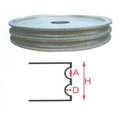 Automatic supreme quality abrasive grinding wheel diamond segment super x5000 glass edge wheels stone cup