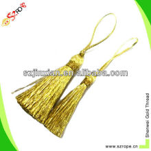glittering decorative tassels