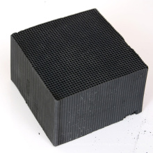 Good quality Water-Resistant Extruded Honeycomb Square Activated Carbon For VOC Removal