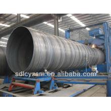Q235B large diameter spiral steel pipe on sale