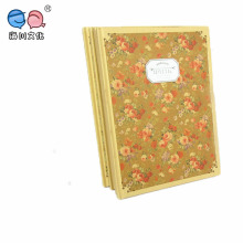 High Quality Flower A4 Hardcover Notebook (NP(A4)-Y-100P-04)