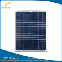 Painel solar poli de 80W com bom preço (SGP-80W)