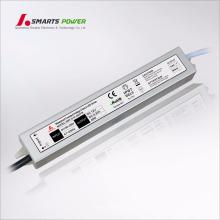 12 v 24 v DC voltaje constante led fuente de alimentación marca CE led conductor 40 w