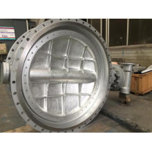 Dn1600 Wcb Worm Butterfly Valve