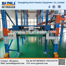 China Professional high efficiency radio shuttle meal storage mobile shelving system