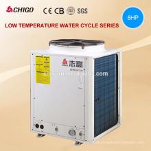Niedrige Temperatur Umgebungs-25C Winter 55C Heizraum sparen 75% Leistung 20KW EVI DC Inverter Wärmepumpe