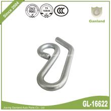 Gancho de fio de aço - zincado S