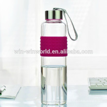 Promotional 1Litre Sealed Heat-resisting Stainless Steel Lid Cute Water Bottle