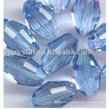 Perles de cristal ovales ovales en béton 2016 en vrac