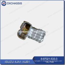 Véritable moteur 4JA1 4JB1 Big Oil Pan 8-97021-533-3