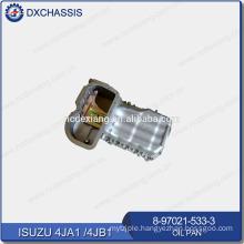 Genuine Engine 4JA1 4JB1 Big Oil Pan 8-97021-533-3