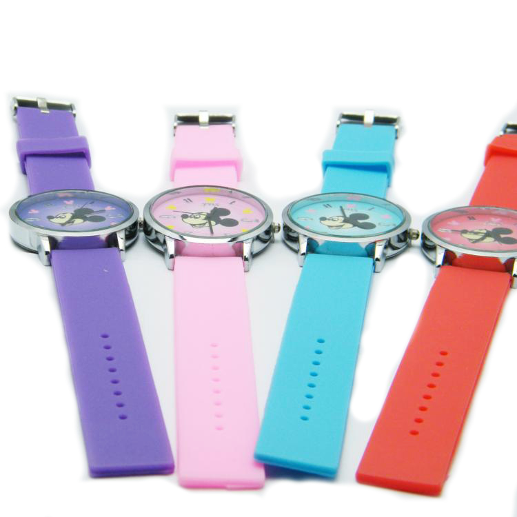 silicone rubber watches