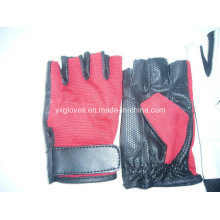 Half Finger Glove-Sport Glove-Bicycle Glove-Riding Glove-Weight Lifting Glove-Safety Glove