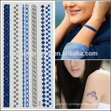 OEM atacado tatuagens de design mais recente venda quente design de moda temporária tatuagem para meninas de beleza V4606