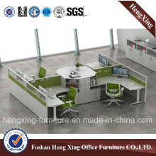 Simple Design 4 Seats Office Partition for Office Furniture (HX-PT14031)