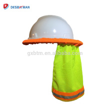 New Hard Hat Neck Shade Sun Protection Shield Safety Reflective Back Stripe