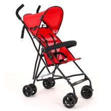 Cochecito de bebé portátil plegable de cuatro ruedas del cochecito de bebé al por mayor