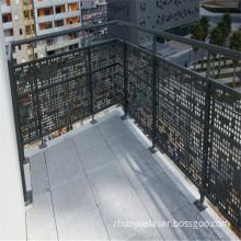 Laser Cutting Balcony Screens