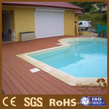 Decking exterior composto de WPC - plataforma da piscina