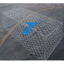 ТС-высокое качество ПВХ покрытием Габионные сетки/Габионных окне цене
