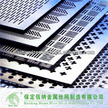 Stahl 304 Perforierte Metallgewebe / perforierte Metallbleche, Platten aus Porzellan