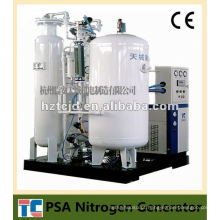 Planta do nitrogênio do gás Planta completa Aprovação do CE