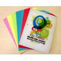 225GSM A4 Papel de cores diferentes para o arquivo de capa e pasta