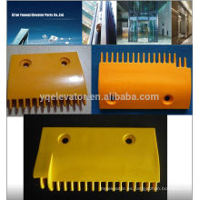 LG Escalador peine placa, Escalera plástica peine placa, escaleras mecánicas piezas de recambio para LG