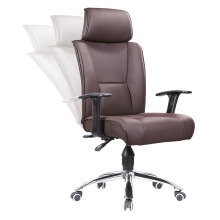 Multifuctional High Back Swviel Leather Executive Boss Office Chair (HF-A1543)