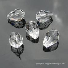 Crystal Glass Beads Teardrop
