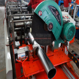 easy operating rain spout pipe cold rolled forming machinery