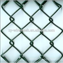 El PVC caliente caliente de la venta del cartón cubrió la cerca revestida del acoplamiento de cadena (fábrica)