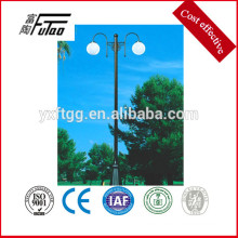Hot Did Galvanized Decorative Led Lights pole sales on market