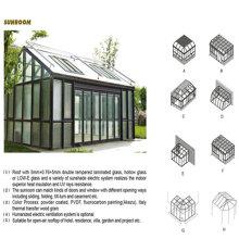 Многие моды дизайн крыши алюминиевая лоджия (М-С)