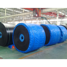 Oil And Wear Skid Resistant Closed Pattern Rough Top Rubber Chevron Oil Resistant Conveyor Belt
