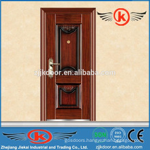 JK-S9206 steel frame steel security entry doors residential