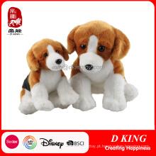 Miúdos feitos sob encomenda encheram brinquedos macios do luxuoso do cão