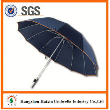 Promotional Power Bank Charger Gift Blue Umbrella with Logo