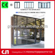 Profissional Automático Commercial Portas de vidro deslizantes